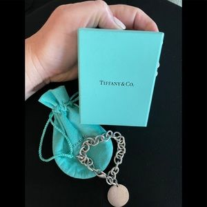 Sterling Silver Tiffany Charm Bracelet